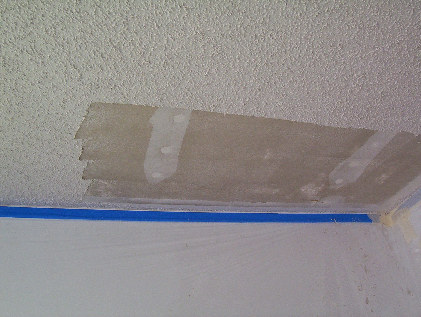Popcorn Ceiling : Popcorn Ceiling Repair Pretty Handy Tackles All Sorts Of,Popcorn Removal ...