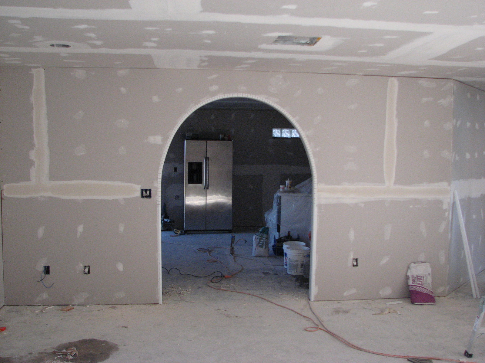 Finished Drywall Bullnose Corner Bead : Melbourne fl drywall contractor repairs brevard county