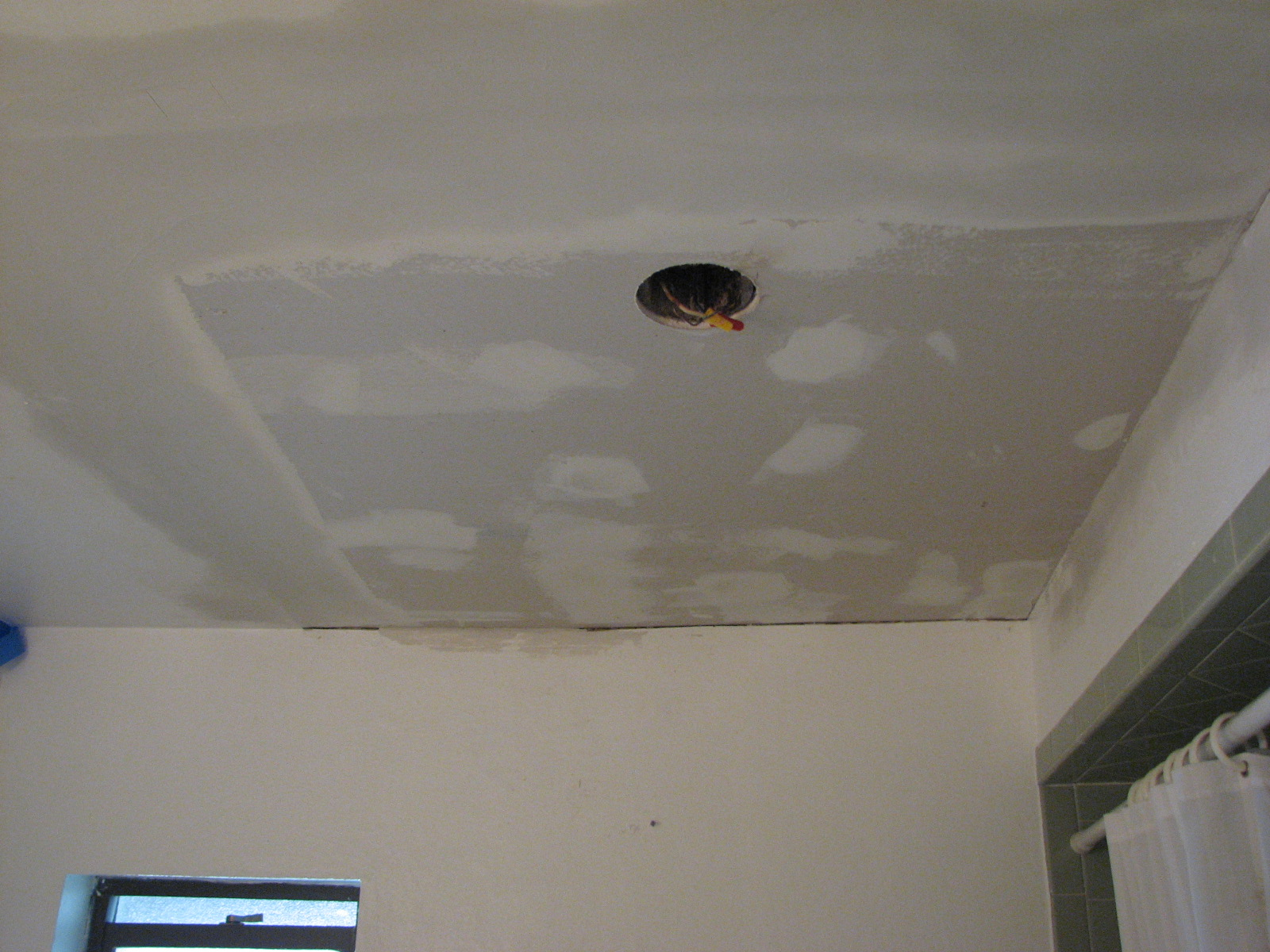 Ceiling Repair Drywall Kemistorbitalshowco - How to fix bathroom ceiling