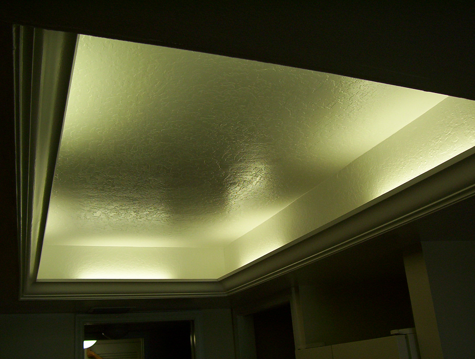 Custom trey ceiling