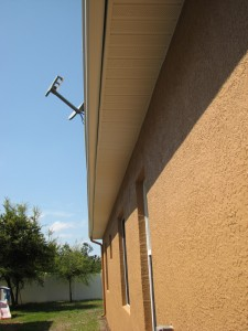 Soffitts after exterior painting