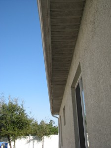 soffitts before exterior painting