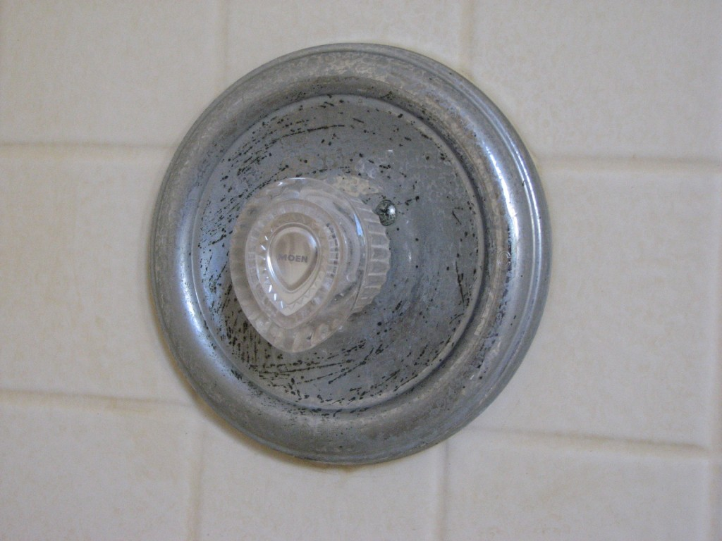 Shower corrosion