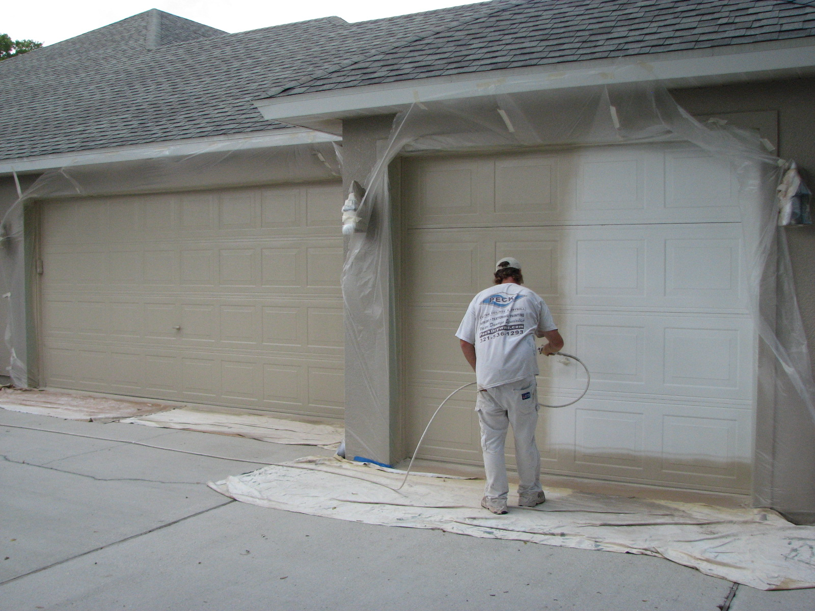Painter in melbourne fl exterior house painting for Exterior mural paint