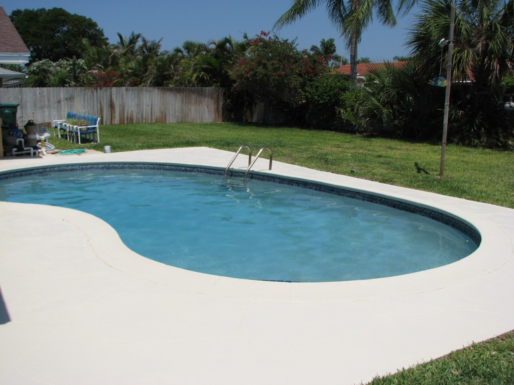 Indialantic, Fl Pool Deck Painting
