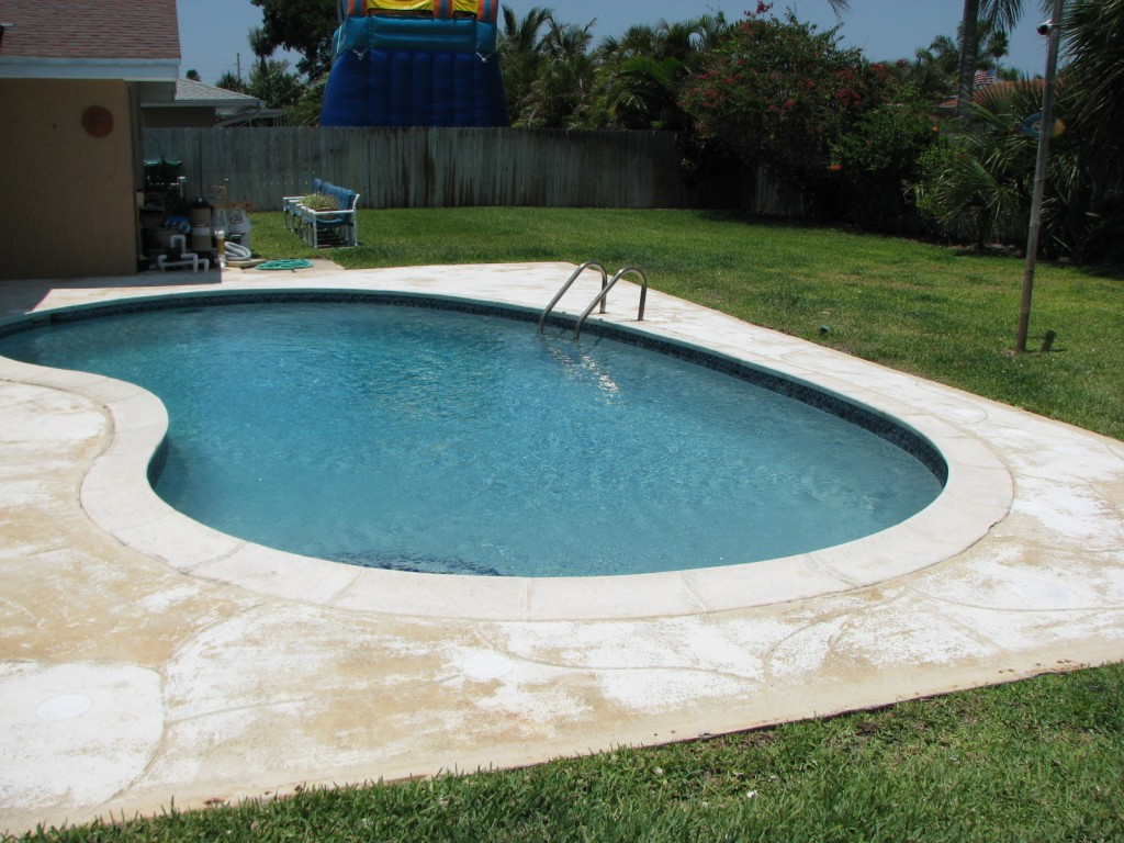Indialantic Fl Textured Pool Deck Repair
