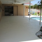 Viera Pool lanai Repair and Painting- After photo: