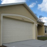 Exterior Painting a short sale home in Palm Bay, Fl
