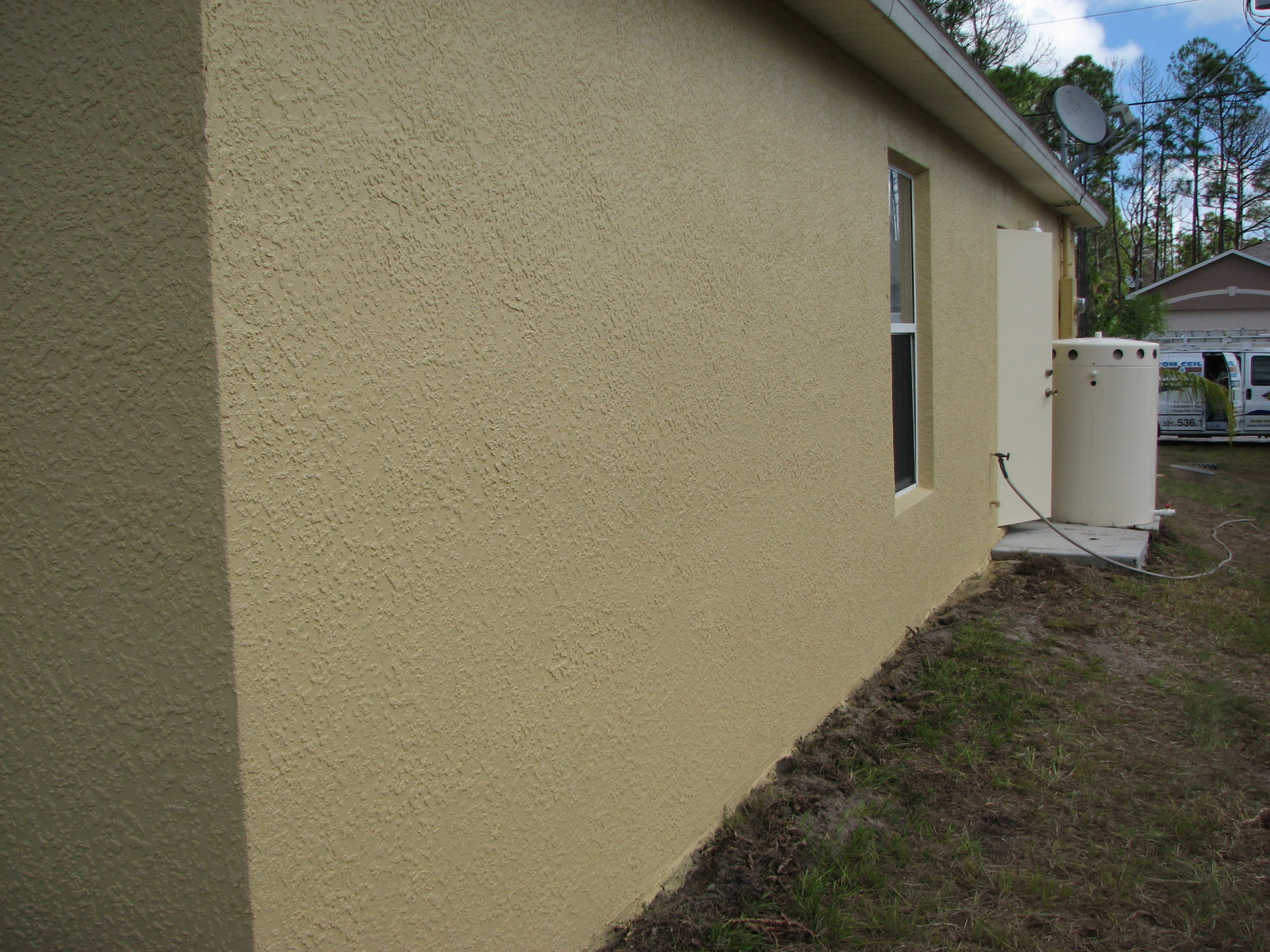 Palm Bay- Stucco Cracks After Photo