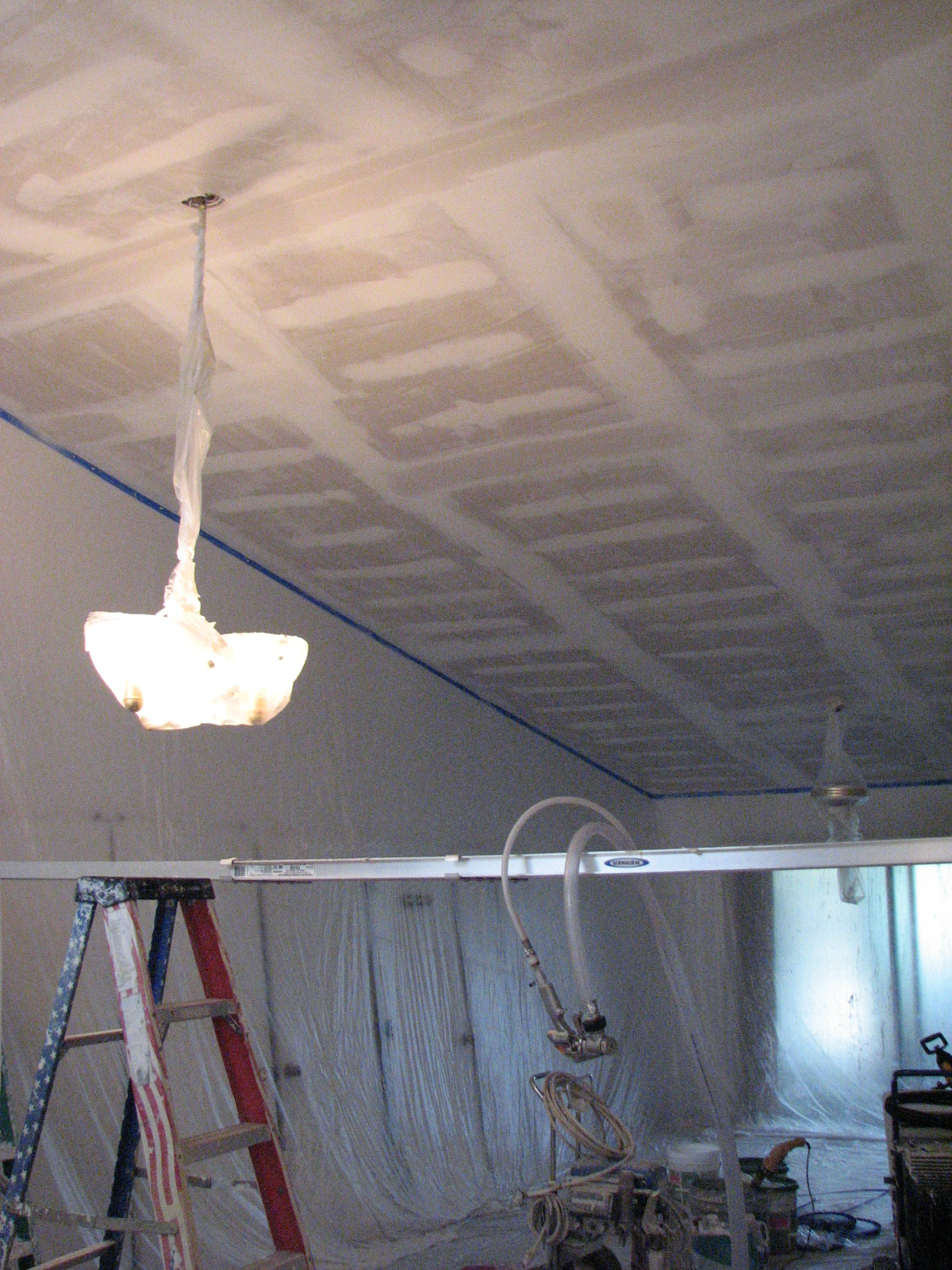 Brevard County Vaulted Ceiling Repair Popcorn Removal Peck Drywall And Painting