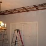 Indialantic Ceiling Repair and Skip Trowel Texture Match