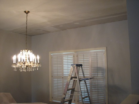 Indialantic-Water Damage-Skip Trowel Ceiling-Drywall Finishing-5