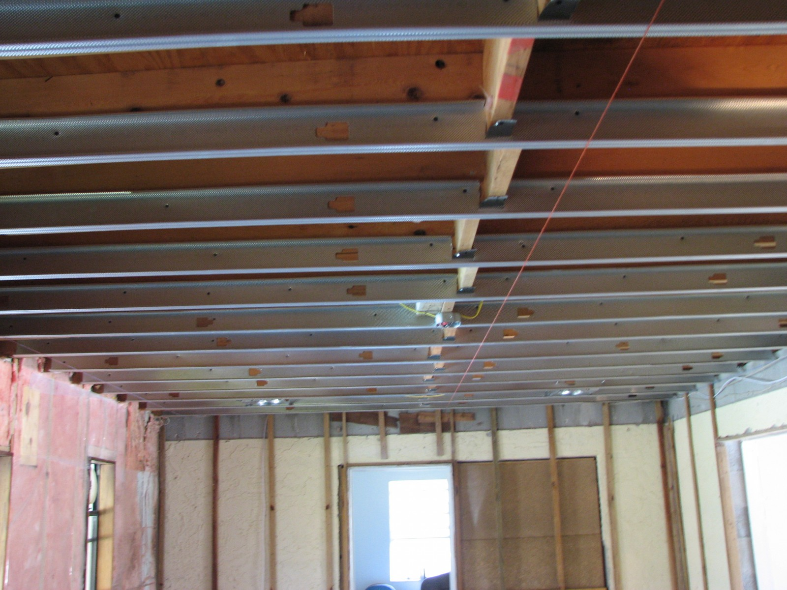 Elegant Leveling A Ceiling With Metal Framing