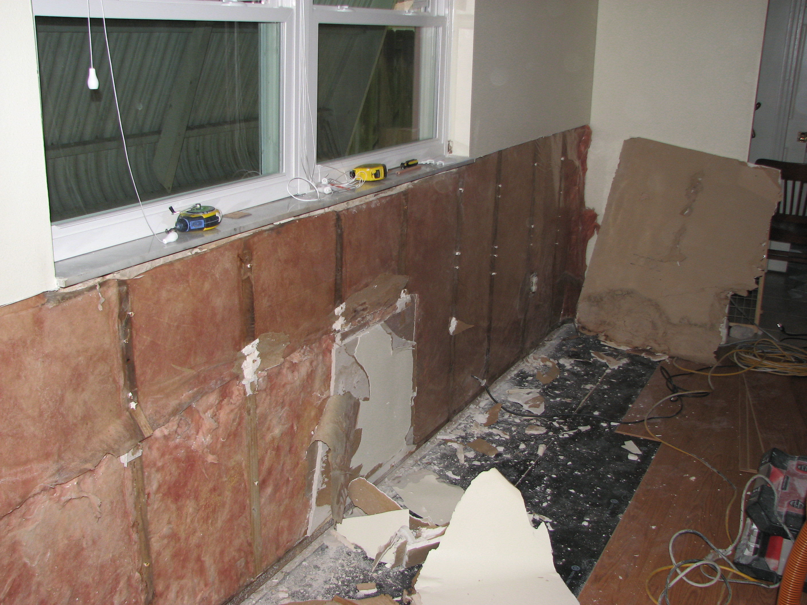 Melbourne Water Damaged Sheetrock Repair