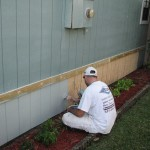Merritt Island – Wood Siding Repair – Exterior Painting
