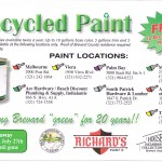 Free Recycled Paint – Brevard County Residents