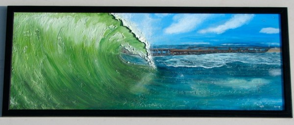 Sebastian Inlet - Surf Art Painting