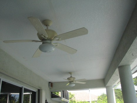Pool Patio Ceiling Repair - Merritt Island