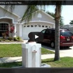 Merritt Island Exterior Painting – Stucco Repair – Before and After Video