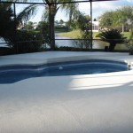 Pool Deck and Lanai- After photo
