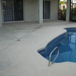 Melbourne-Suntree-Pool Deck and Lanai Painting-Before Photo