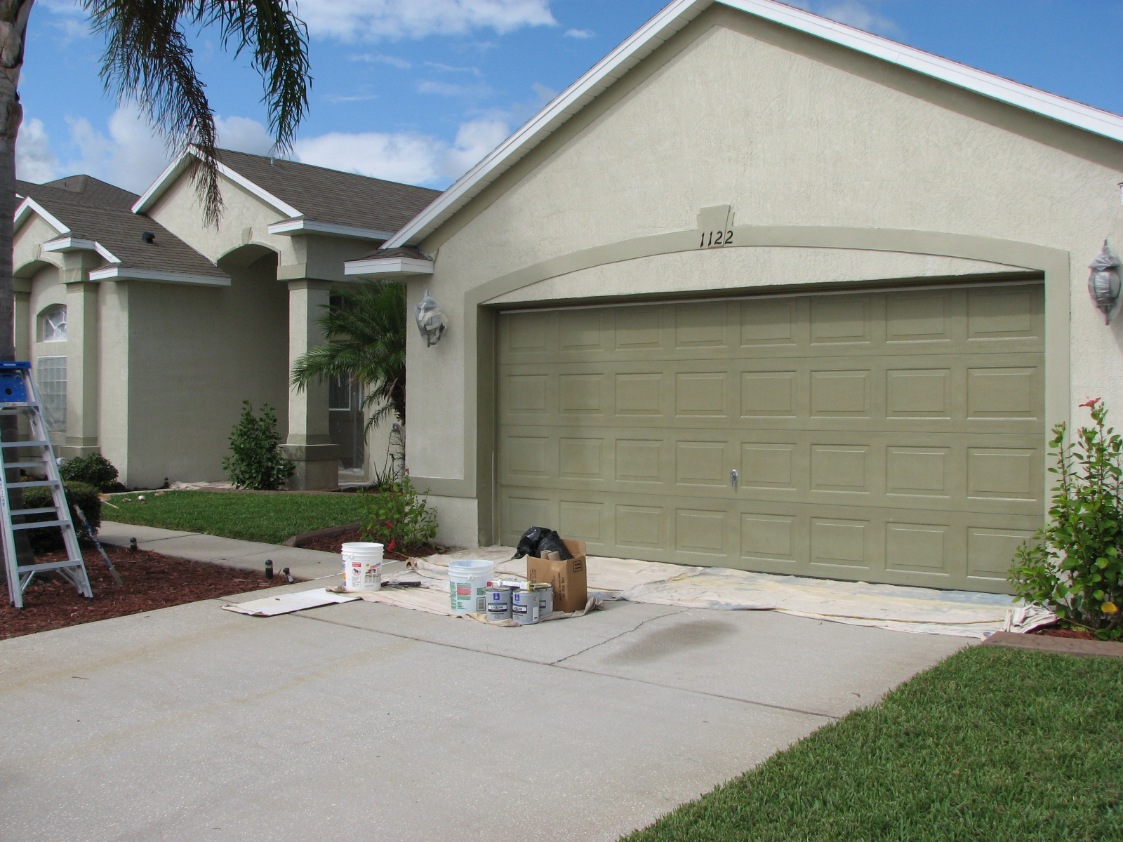 Chalky And Faded Paint House Painting Project In Melbourne Fl - Home-exterior-painting