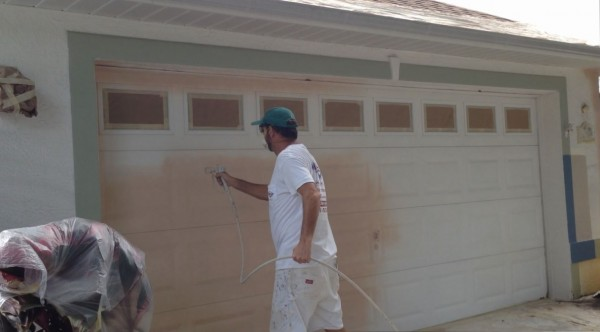 Garage Door Spraying Primer/Sealer