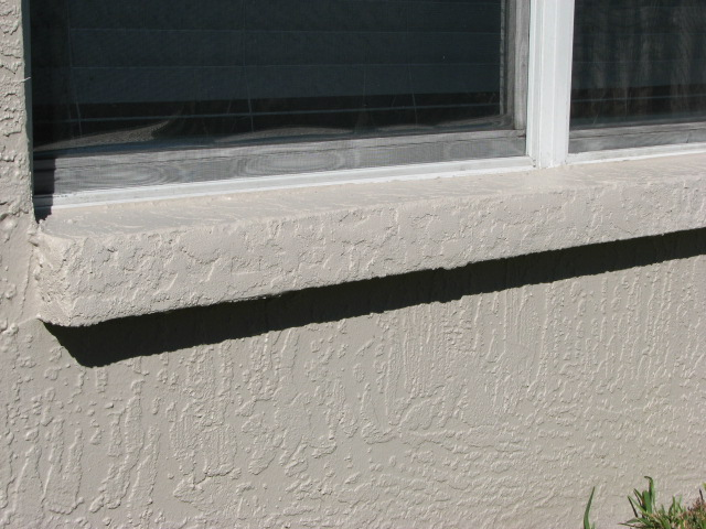 Exterior Repaint Stucco Repair Rusted Stucco Bands Stucco Cracks