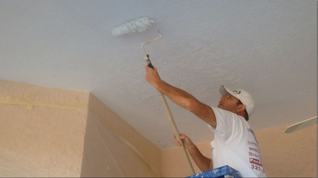 Priming ceiling-repair Rockledge