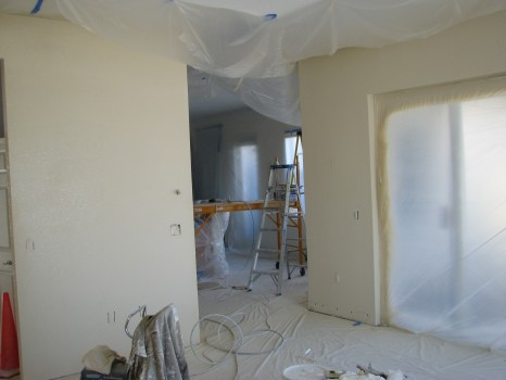 painting plaster after wallpaper removal