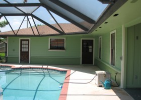 Indialantic exterior painting after photo: