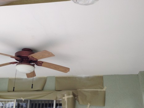 Ceiling repair-skim coated-ceiling-viera