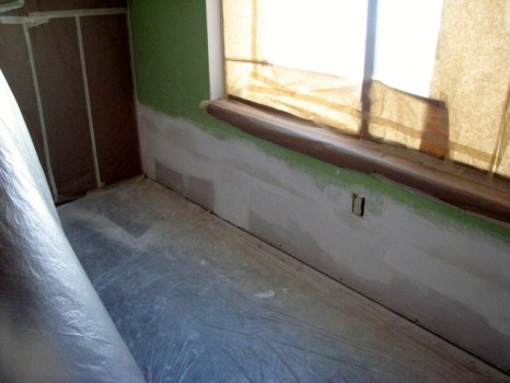 Drywall finish - Three coats of mud