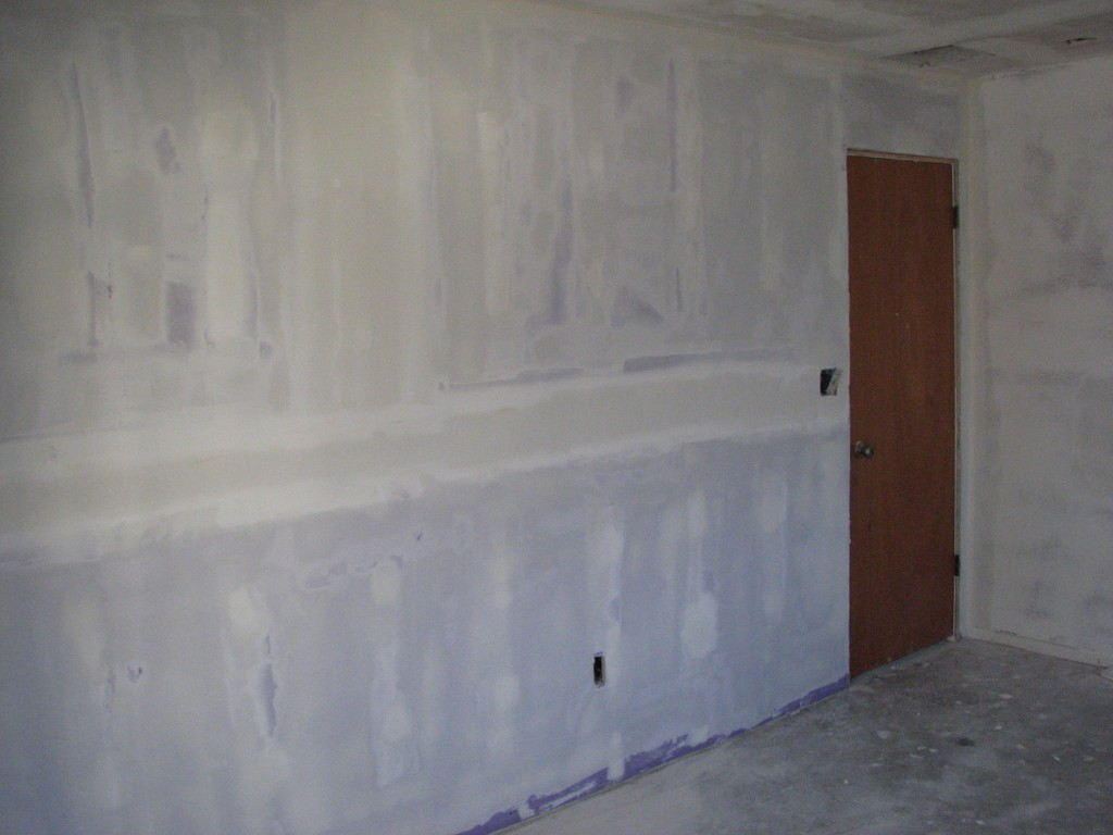 soundproofing drywall skim coated-2