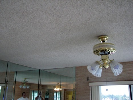 Cocoa Beach popcorn ceiling chipping off- After Photo