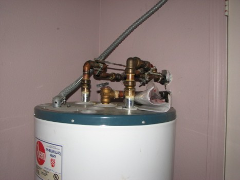 Water heater has no corrosion
