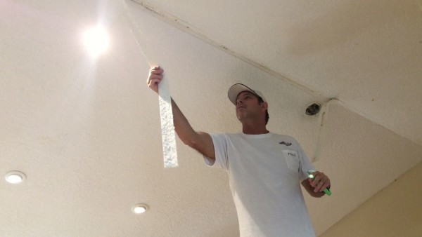 Vaulted Ceiling Tape Joint Repair Texture Sponge