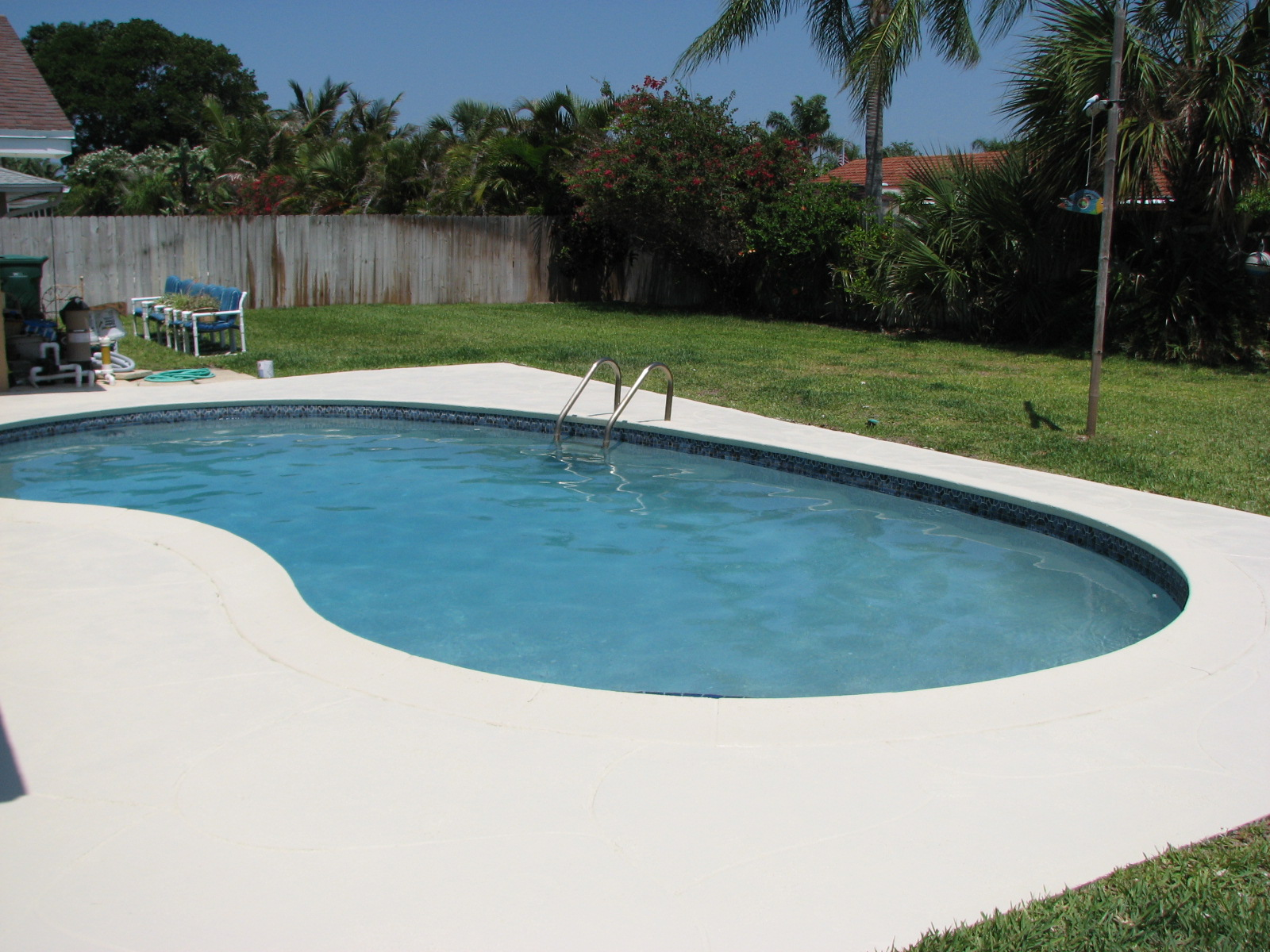 Indialantic Fl Pool Deck Painting