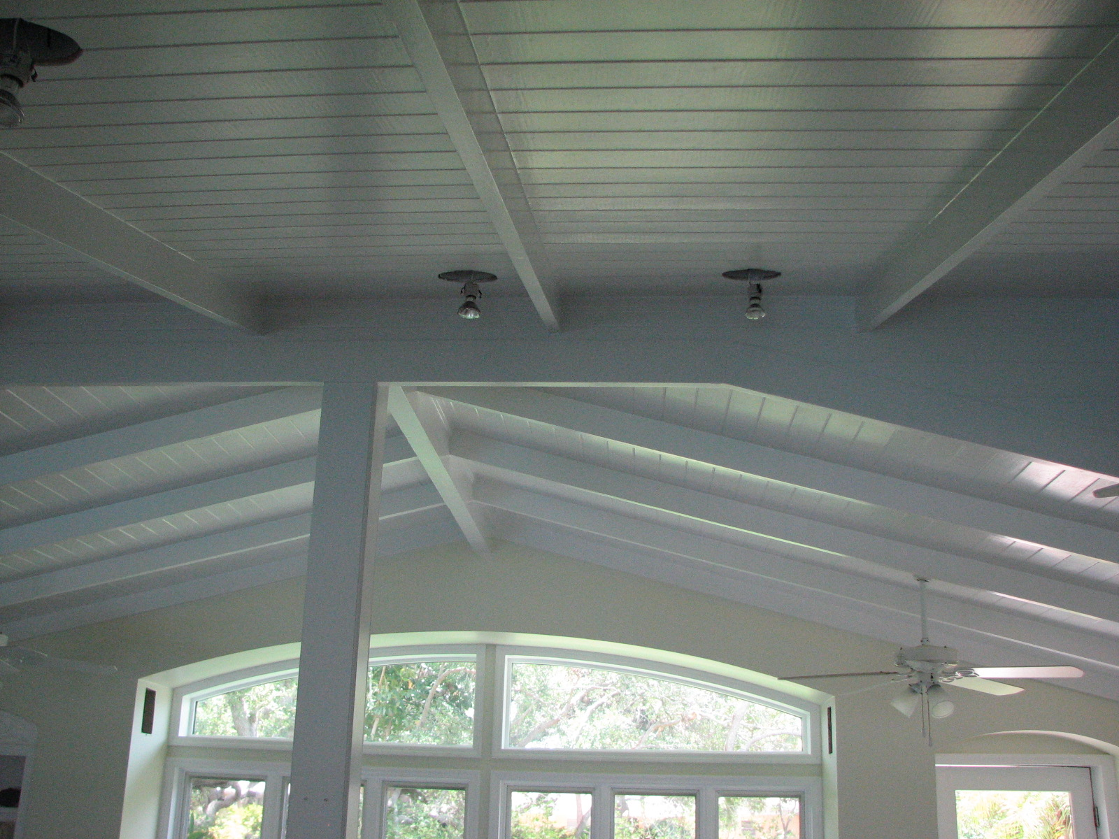 Painting Tongue And Groove Ceiling