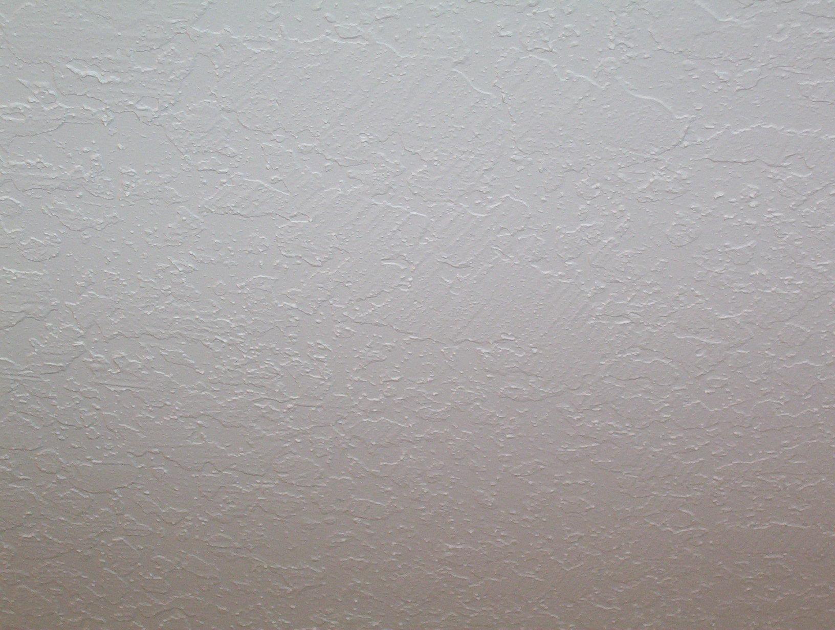 Skip Trowel Textured Ceiling Painted