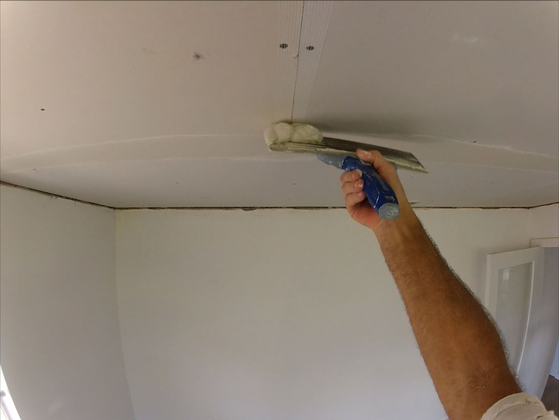 How To Get Flat Drywall Butt Joint With Fiberglass Mesh